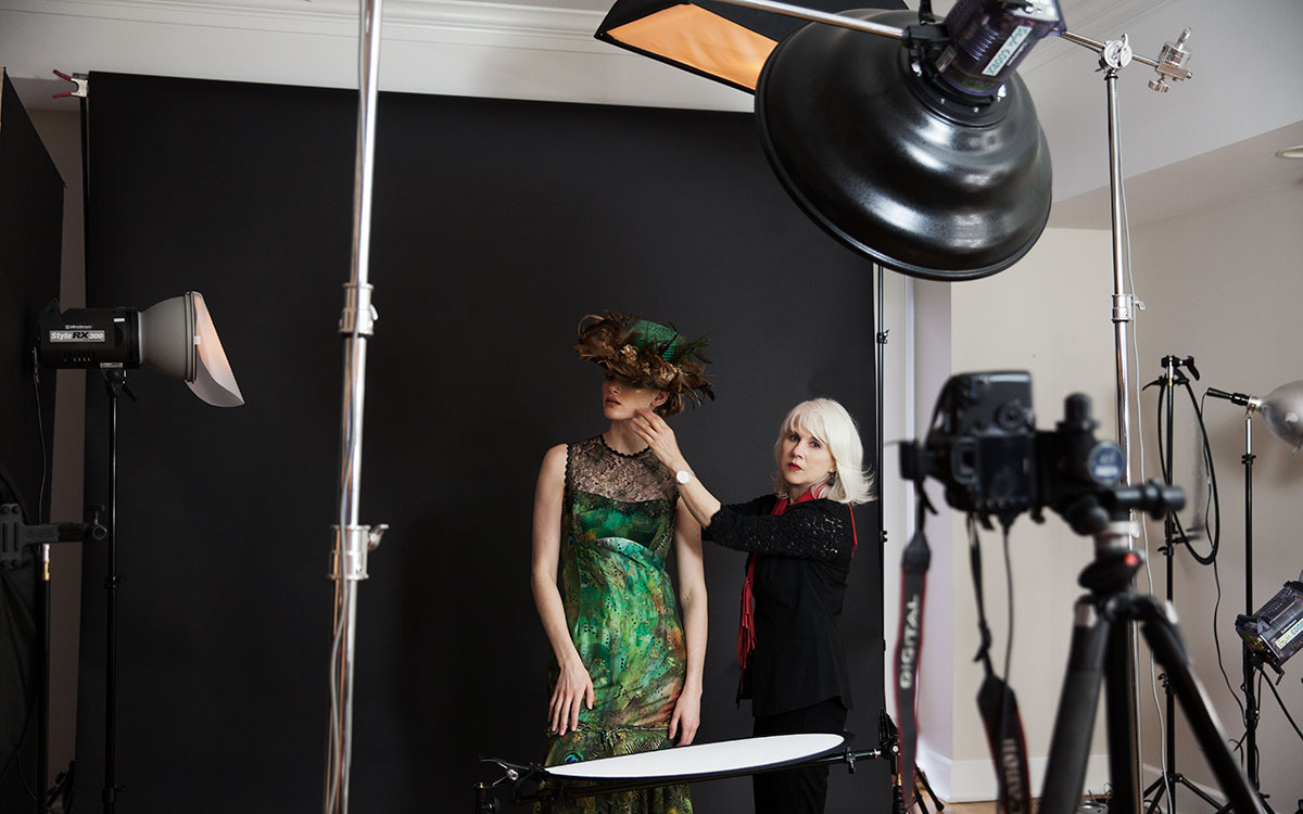 BEHIND THE SCENES - PHOTO SHOOT | PHOTOGRAPHER JEAN SWEET | Constance McCardle Fashion Design