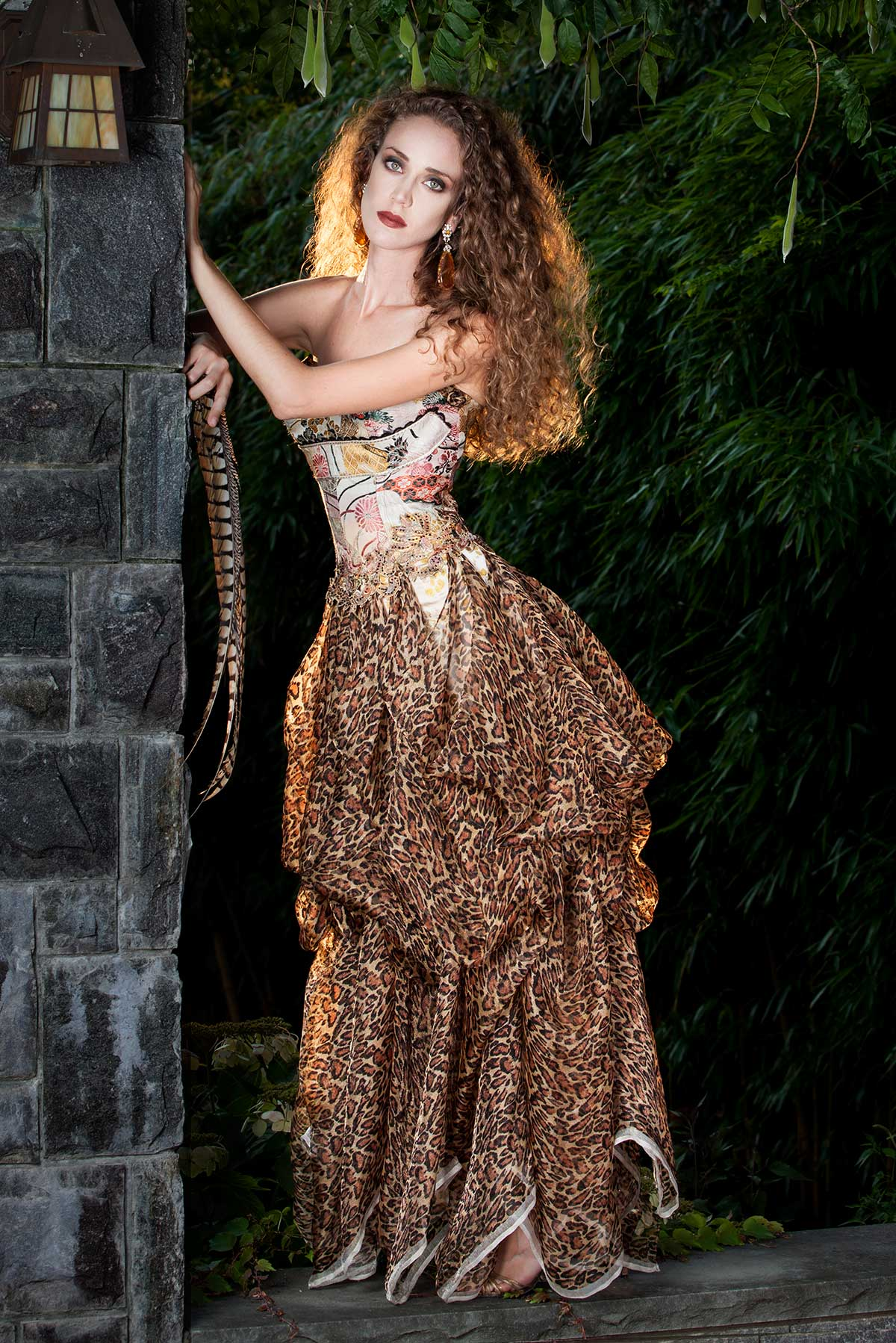ASIAN LEOPARD- Constance-McCardle Fashion Design | Photography: Jean Sweet