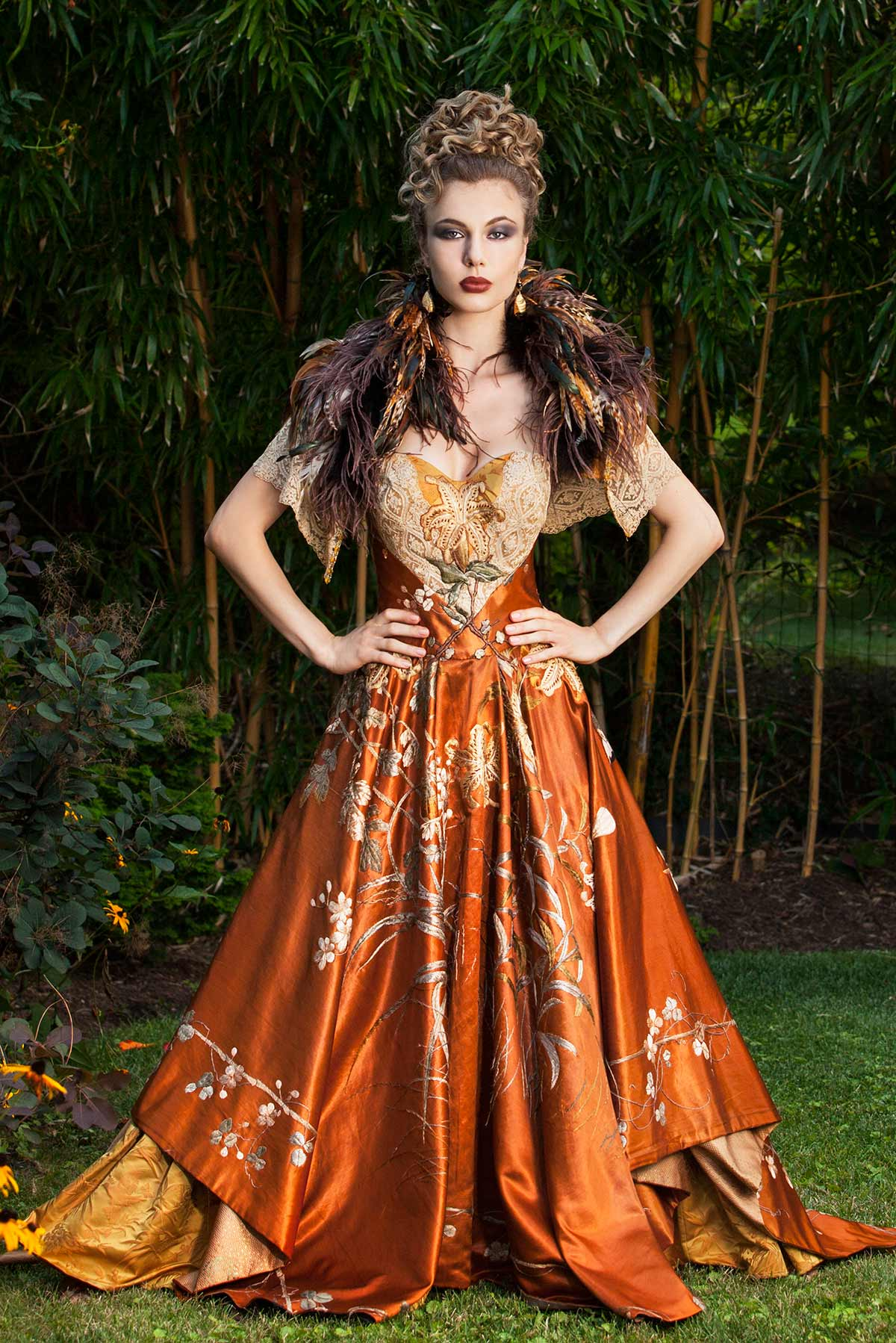 COPPER SPARROW - Constance McCardle Fashion Design | Photography: Jean Sweet | Set Styling: Sandy Hapoienu