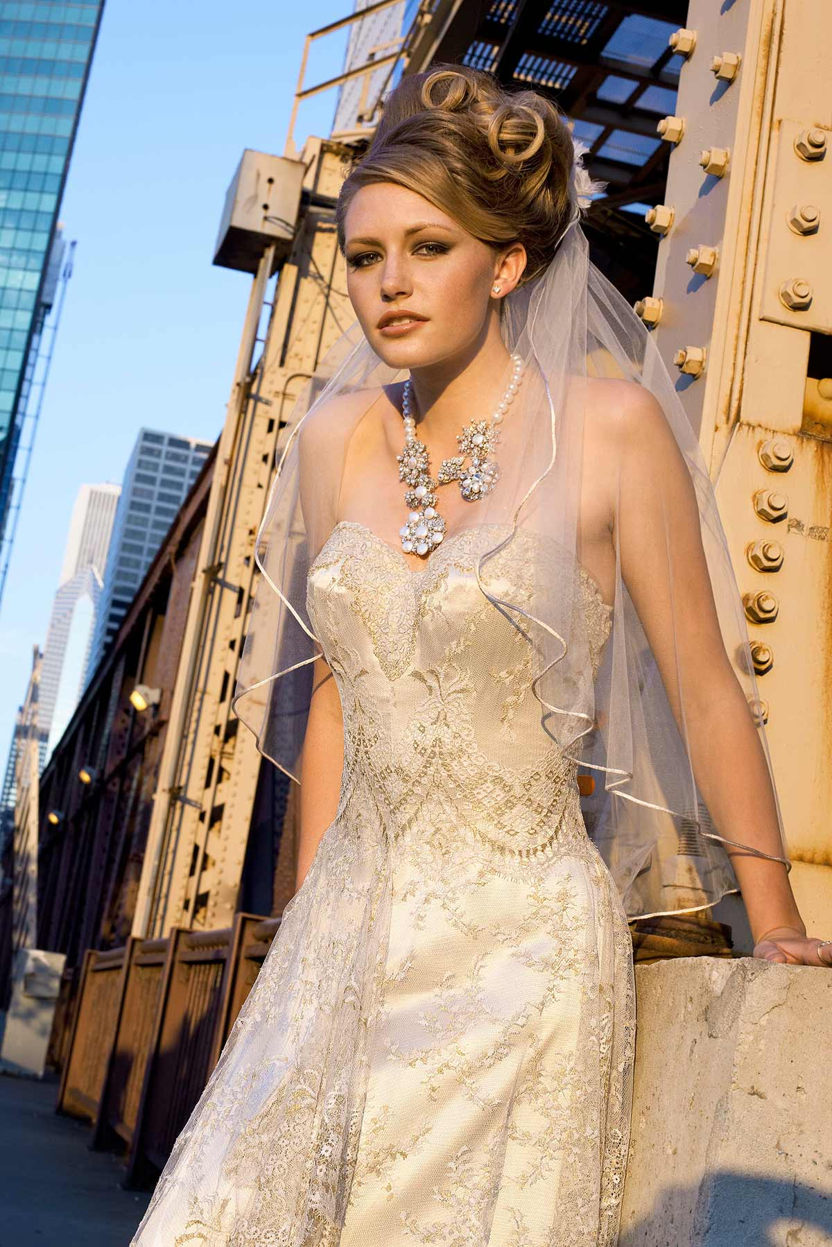 GOLD CHANTILLY|Constance McCardle Fashion Design | Photography: Jean Sweet