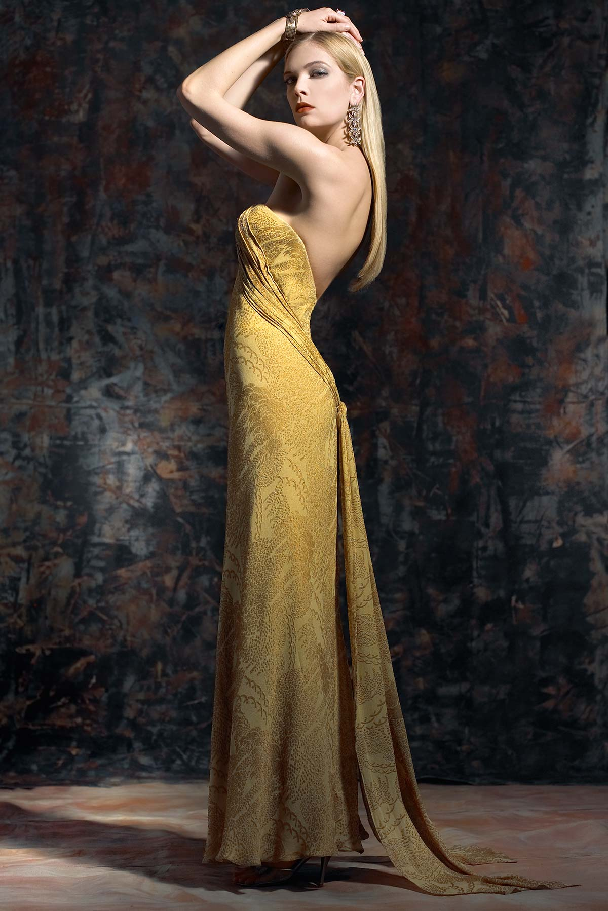 Gold-Fortuny_Constance-McCardle Fashion Design | Photography: Rick Luettke