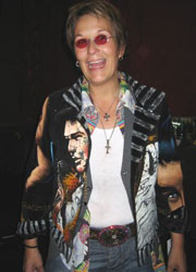 Mary Gauthier Wearing Constance McCardle Design