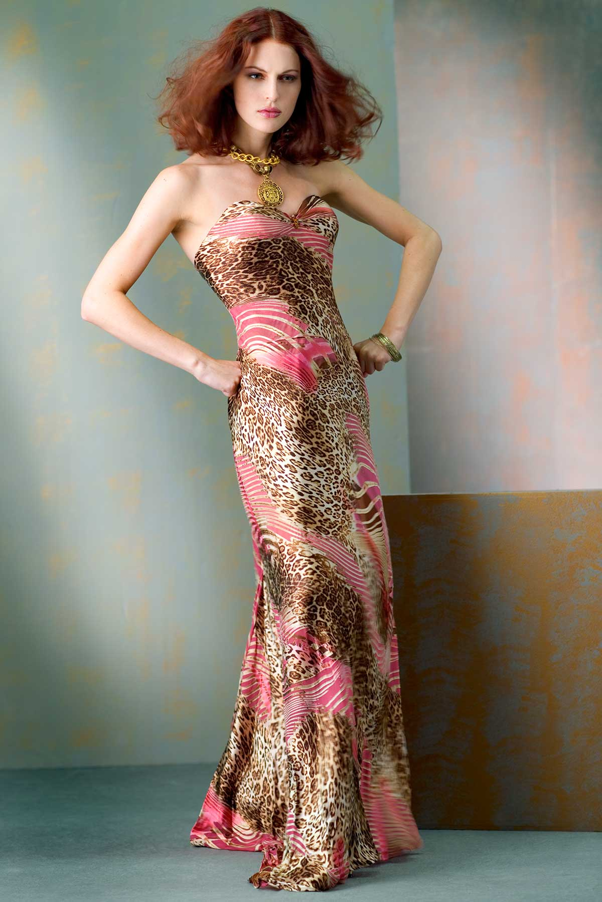 PINK LEOPARD- Constance-McCardle Fashion Design | Photography: Rick Luettke