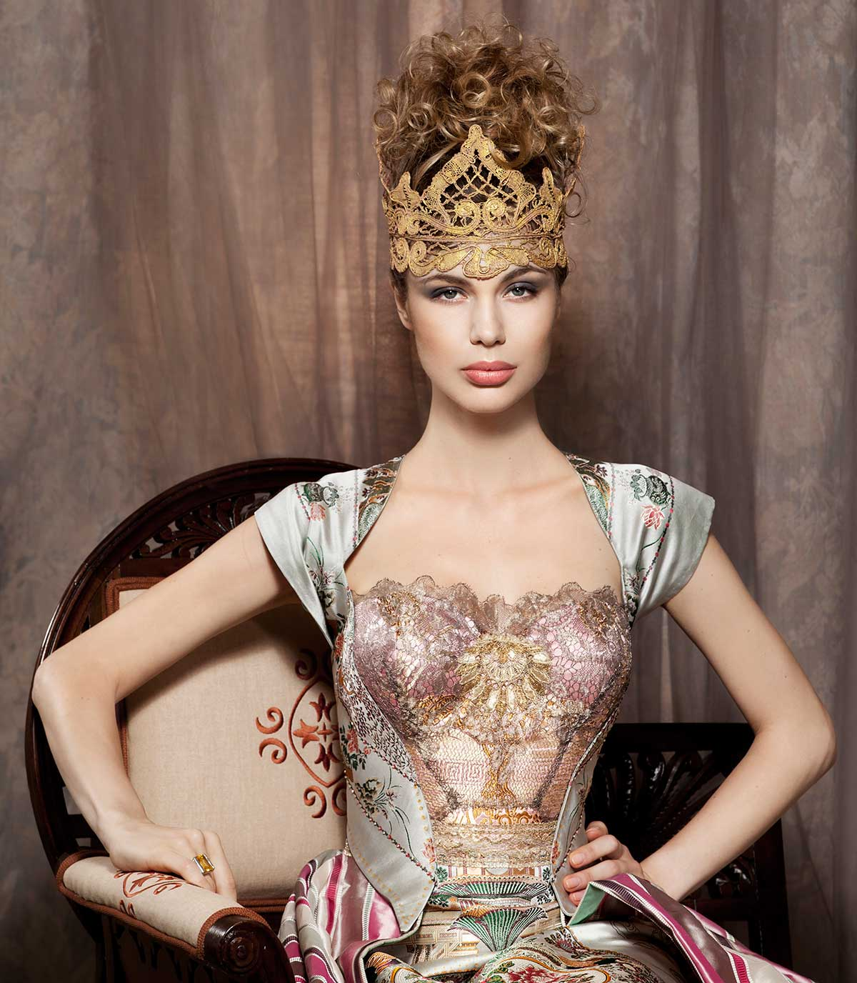PRINCESS ALINA - Constance McCardle Fashion Design | Photography: Jean Sweet | Set Styling: Sandy Hapoienu